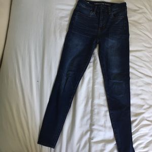 American eagle high-rise skinny jeans